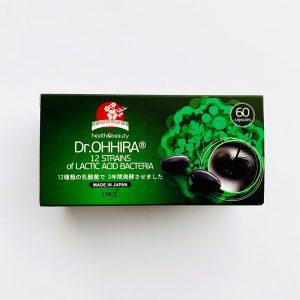 Dr.OHHIRA® 12 rūšių pieno rūgšties bakterijų kompleksas, 60 kaps.