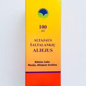 Altajaus šaltalankių aliejus 100ml.