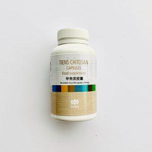 "Kapsulės ""CHITOZAN"" 100 kaps. x 250 mg."