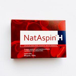 NatAspin, 30 kapsulių