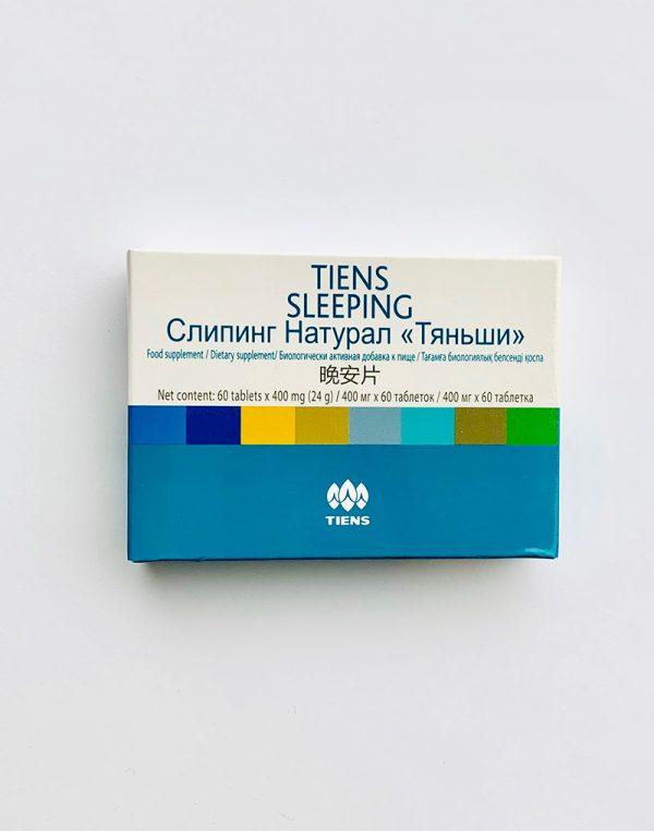TIENS tabletės Sleeping 60 tabl. x 400 mg.