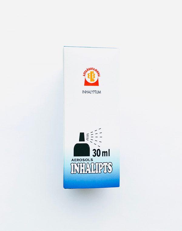 Aerozolis INHALIPT purškalas 30ml.
