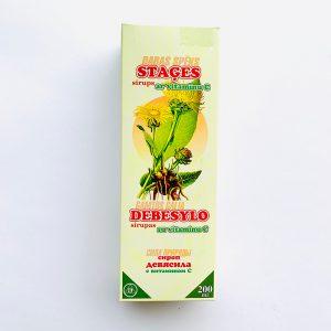 Debesylo sirupas su vitaminu C 200 ml.