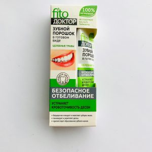 Fito doktor dantų milteliai - dantų pasta praturtinta žolelėmis 45 g.