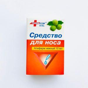 """Priemonė nosies gleivinei """"APIFARM""""(švelnus) 10 ml."""