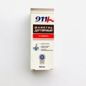 911 Šampūnas Degutinis nuo pleiskanų 150ml