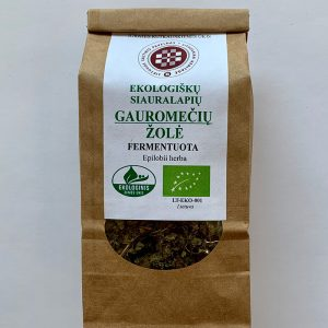 Ekologiškų siauralapių Gauromečių žolė Fermentuota 40g.