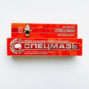 SPECMAZ kremas-balzamas su skruzdžių spiritu ir sibiro pušies ekstraktu