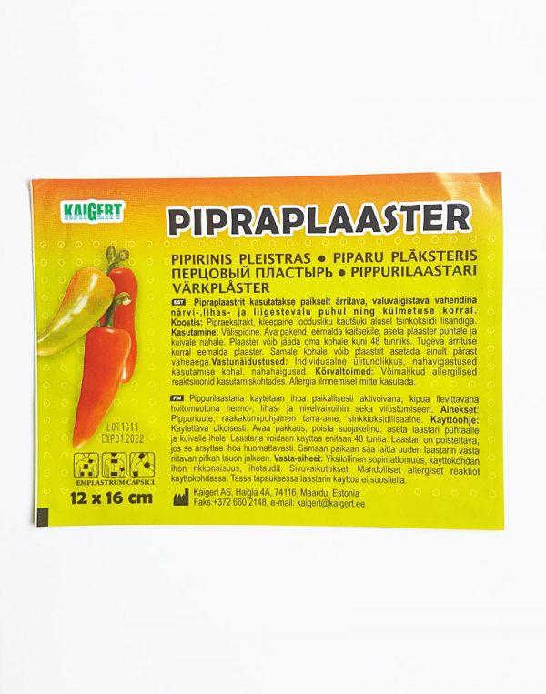 Pipirinis pleistras. Herbarius - vaistažolės internetu