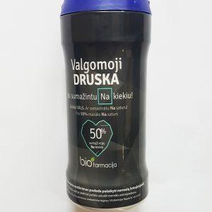 Valgomoji druska su 50% sumažintu natrio kiekiu. Pakuotėje - 250 g
