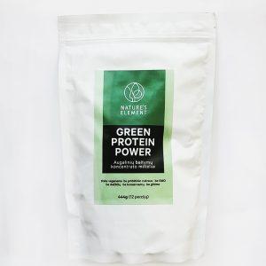 GREEN PROTEIN POWER (Augalinių baltymų koncentrato milteliai)